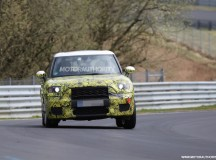 2017 MINI Countryman Prototype Spotted in Video at Nurburgring