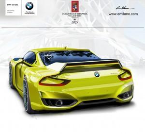 BMW 3.0 CSL Hommage Rendering