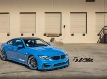 BMW M4 Sits on HRE Classic 303 Wheels