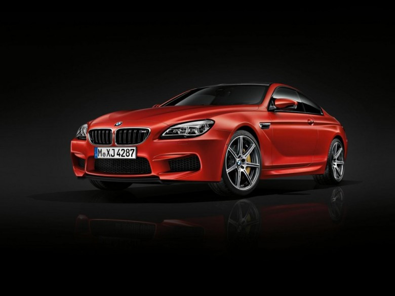 BMW Fits the M6 Coupe with the Competition Package