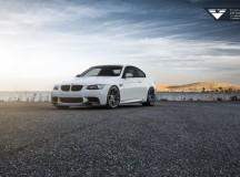 E92 BMW M3 on Vorsteiner Wheels