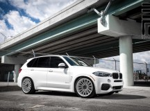 F15 BMW X5 Riding on Vossen Wheels, Installation by Exclusive Motoring Tuning