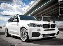 F15 BMW X5 Riding on Vossen Wheels by Exclusive Motoring Tuning