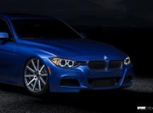F30 BMW 3-Series Rides on VMR Wheels