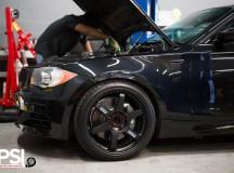 E82 BMW 1-Series 135i Coupe Riding on VOLK Wheels