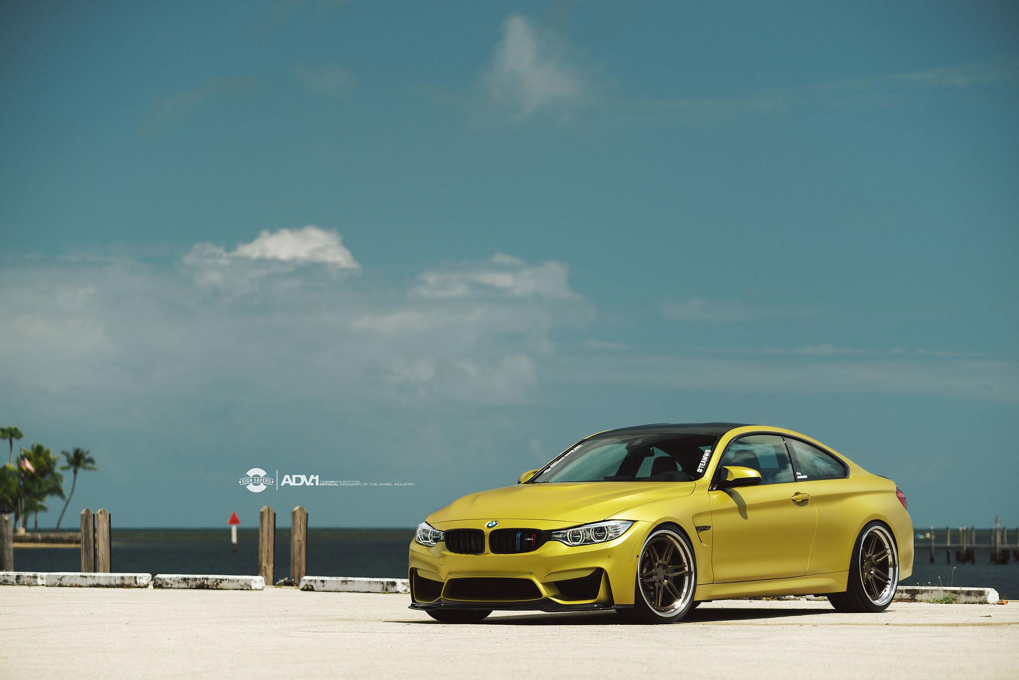 F82 BMW M4 Riding on ADV.1 Wheels