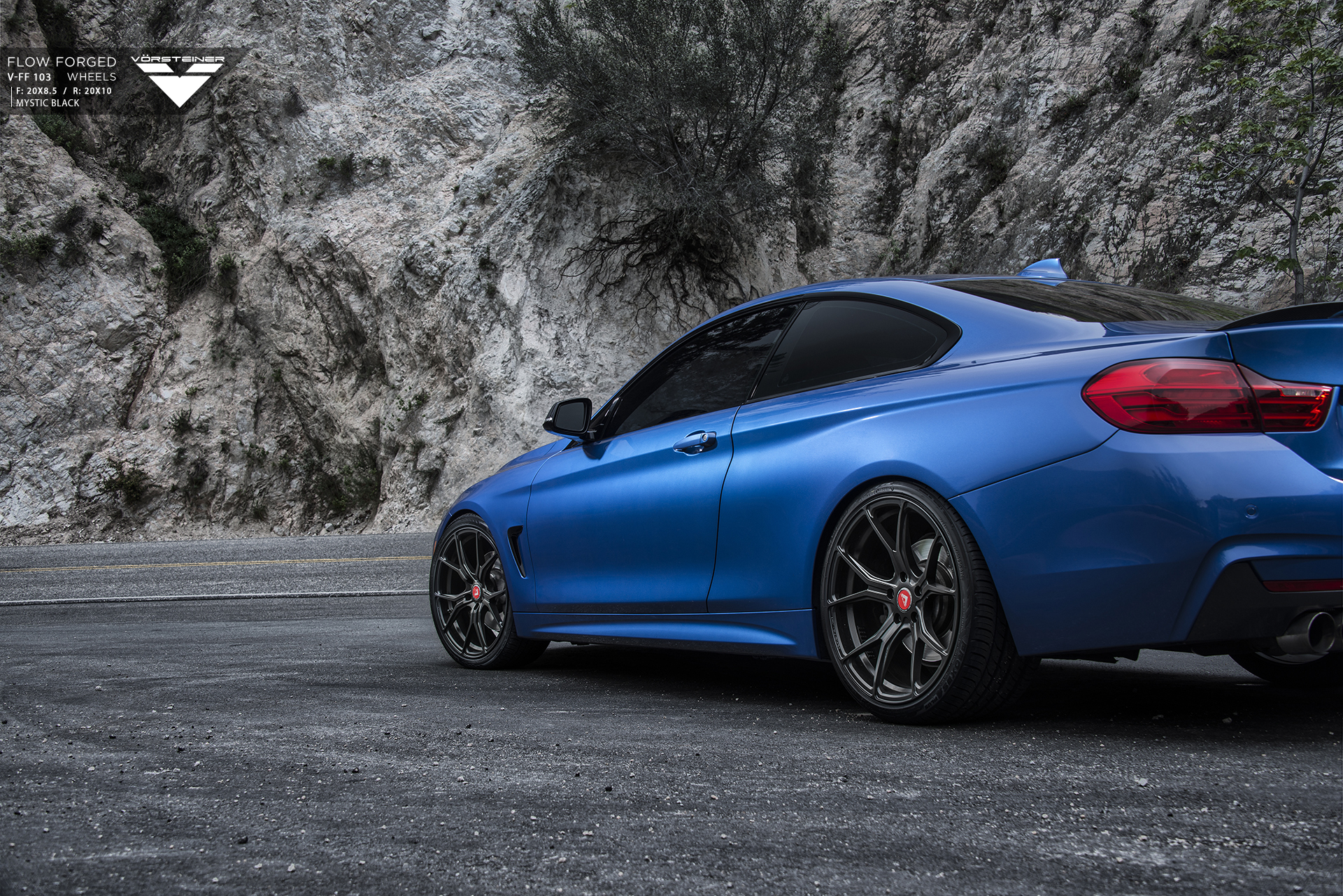 F82 BMW M4 on Vorsteiner Wheels