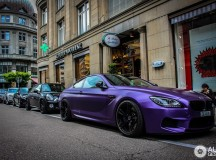 Pink BMW M6 Coupe Spotted in Europe, Wears the G-Power Logo