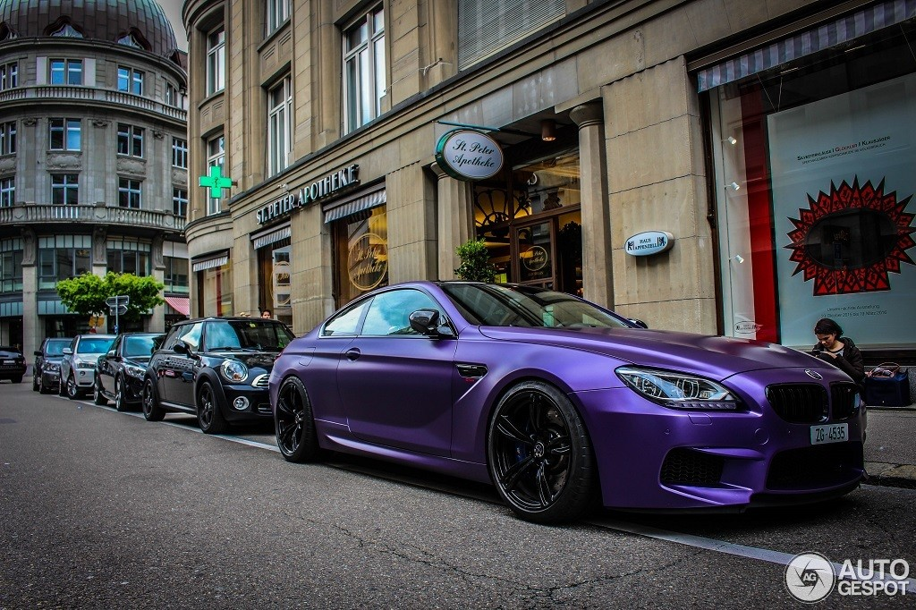 Pink BMW M6 Coupe by G-Power