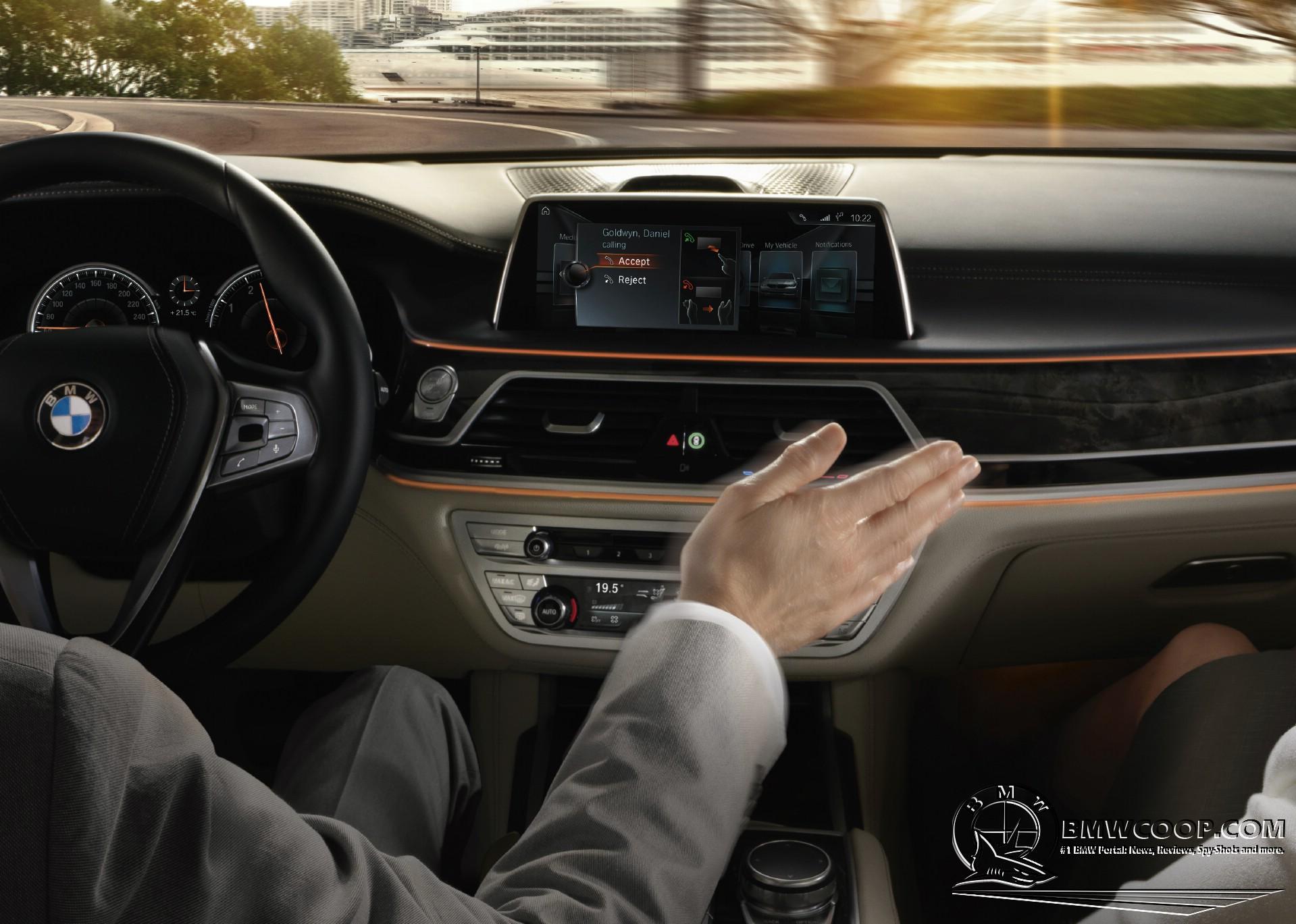 2016 BMW 7 Series Interior Design  BMWCoop