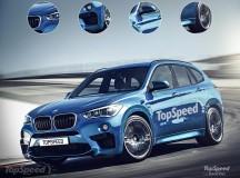 2016 BMW X1 M Rendering