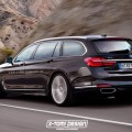 2016 BMW 7 Series Touring Rendering