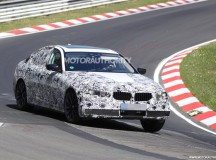 2017 BMW 5-Series Spy Video on the Ring