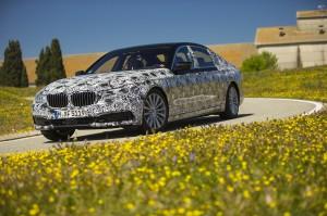 2016 BMW 7-Series Spy Shot