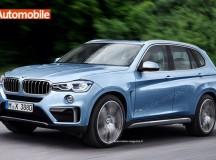 2017 BMW X3 Rendering