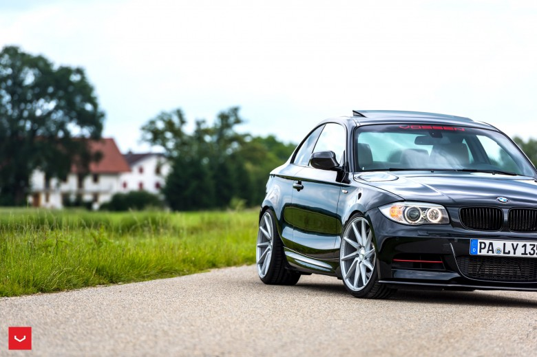 BMW 1-Series Coupe Riding on Vossen Wheels
