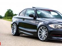 BMW 1-Series Coupe on Vossen Wheels