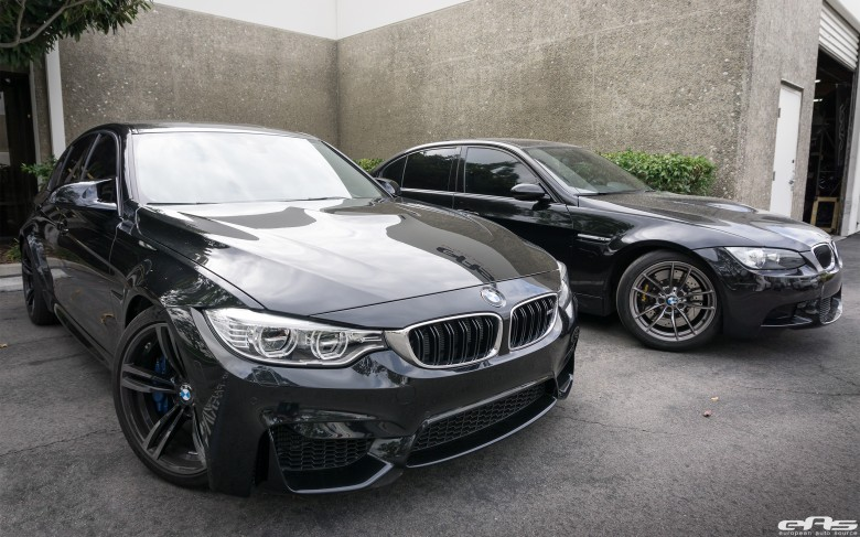 Two BMW M3s Receive Minor Upgrades from EAS