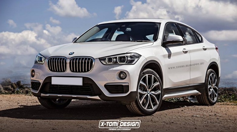 BMW X2 Sport Activity Coupe Rendering