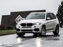 BMW X5 Riding on VMR Wheels