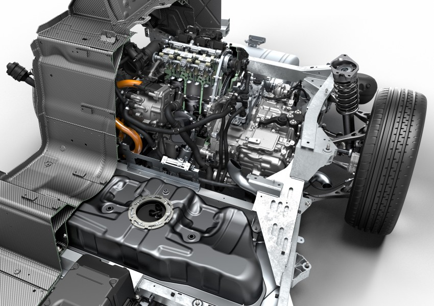 BMW i8 - Winner of the International Engine of the Year