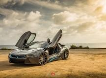 BMW i8 Riding on Vossen Wheels