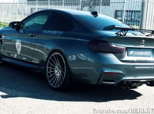 F82 BMW M4 Akrapovic Exhaust by Hamann