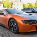 Matte Orange BMW i8