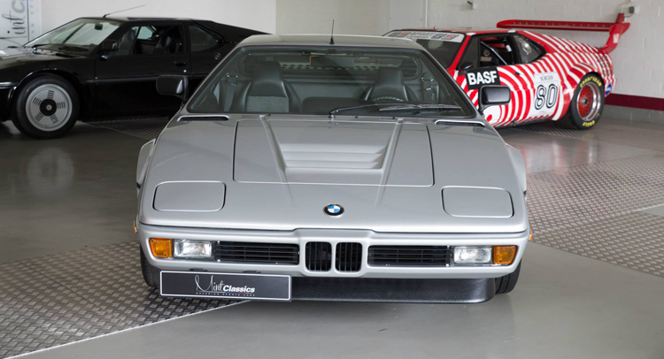 Polaris Silver 1981 BMW M1 Available for Sale, Dealer Asks Whopping Price