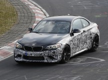 2016 BMW M2 Coupe Spy Shot