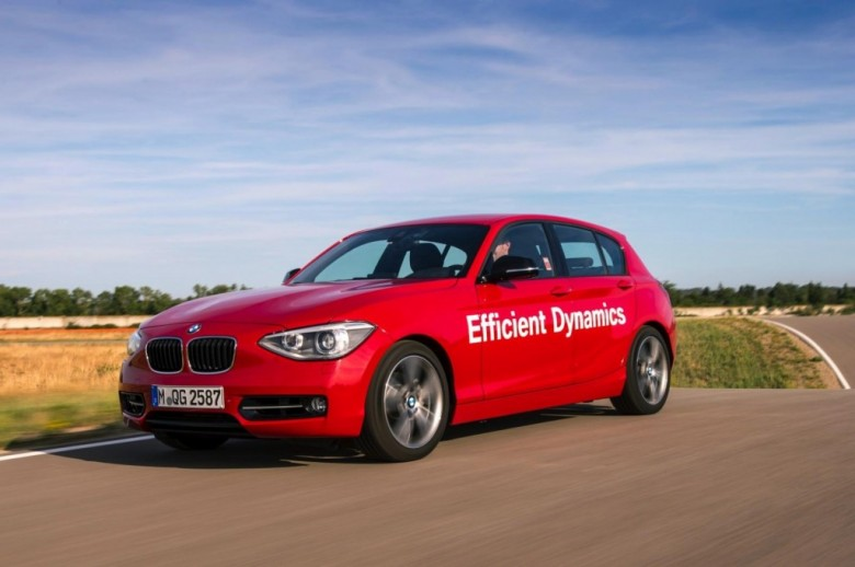 BMW 1-Series Prototype with Direct Water Injection Unveiled