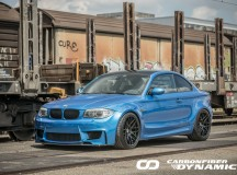 BMW 1M Gets One-Off Body Kit from Carbon Fiber Dynamics