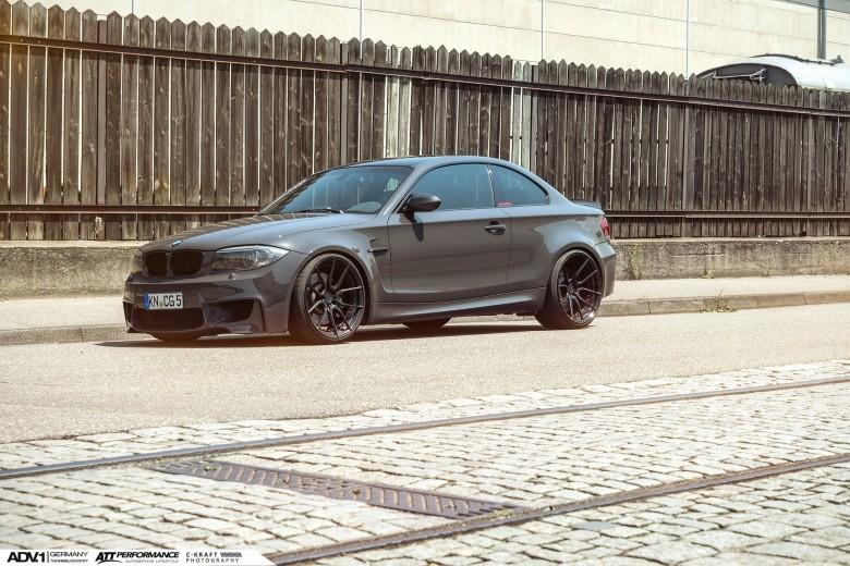 BMW 1M Sitting on ADV.1 Wheels