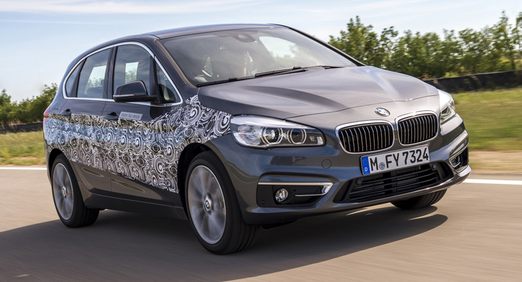 BMW 2-Series Active Tourer PHEV Is Just Around the Corner