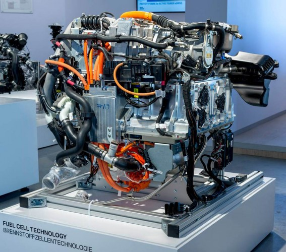 BMW Hydrogen Fuel Cell Technology Makes World Debut at BMW Group Innovation Days Event