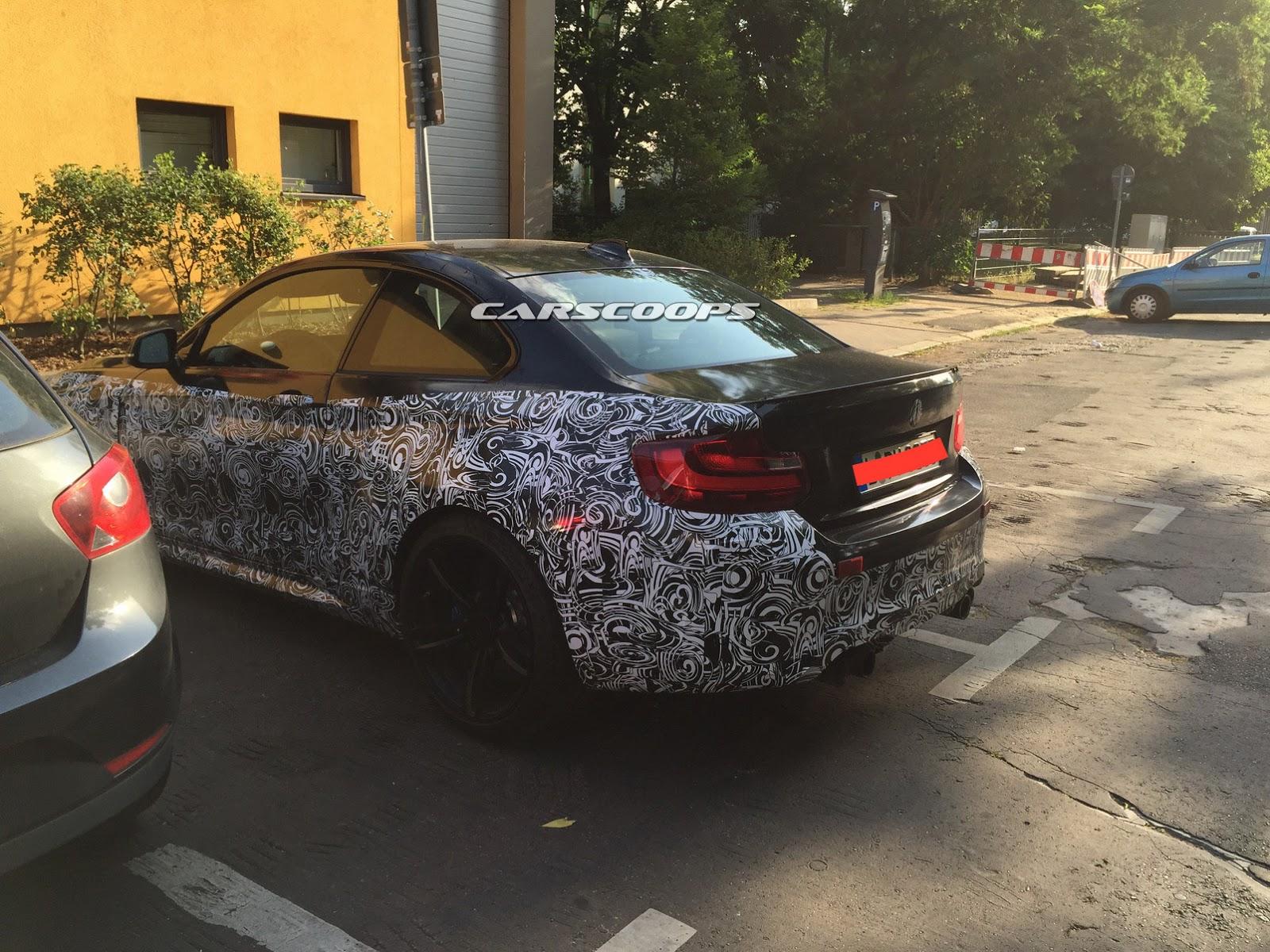 BMW M2 Coupe Spy Shot