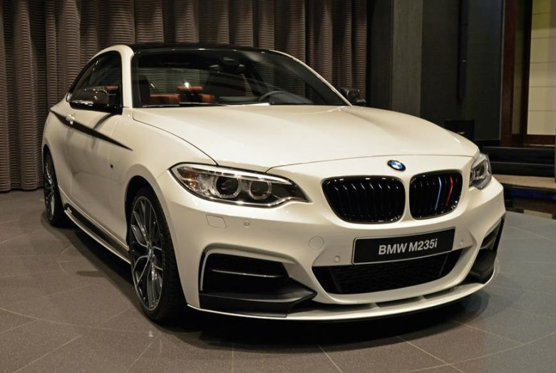 BMW M235i with M Performance Parts, Sits at BMW Abu Dhabi
