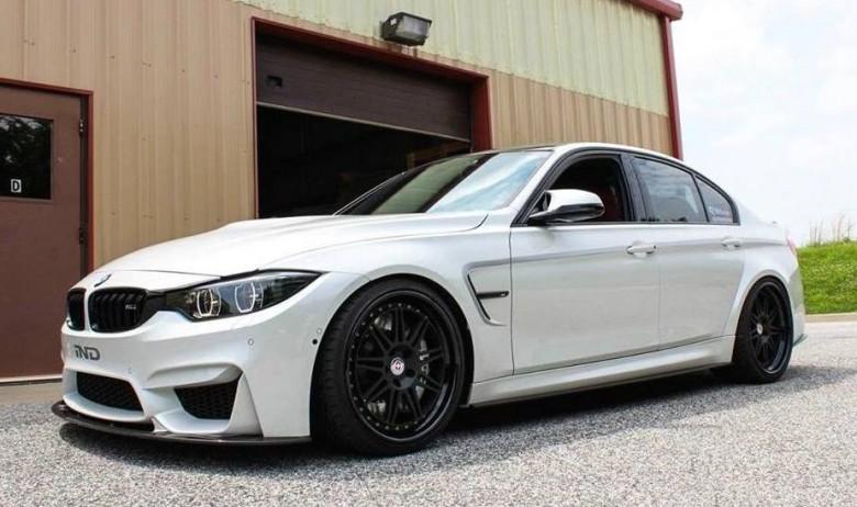 BMW M3 3D Design Body Kit Pops Up