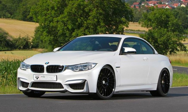 BMW M4 Convertible by mbDESIGN