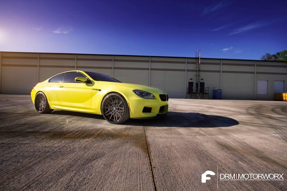 Lemon BMW M6 by DRM Motorworx