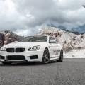 BMW M6 on Carbon Graphite Vorsteiner Wheels
