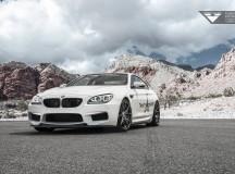 BMW M6 Sitting on Carbon Graphite Vorsteiner Wheels