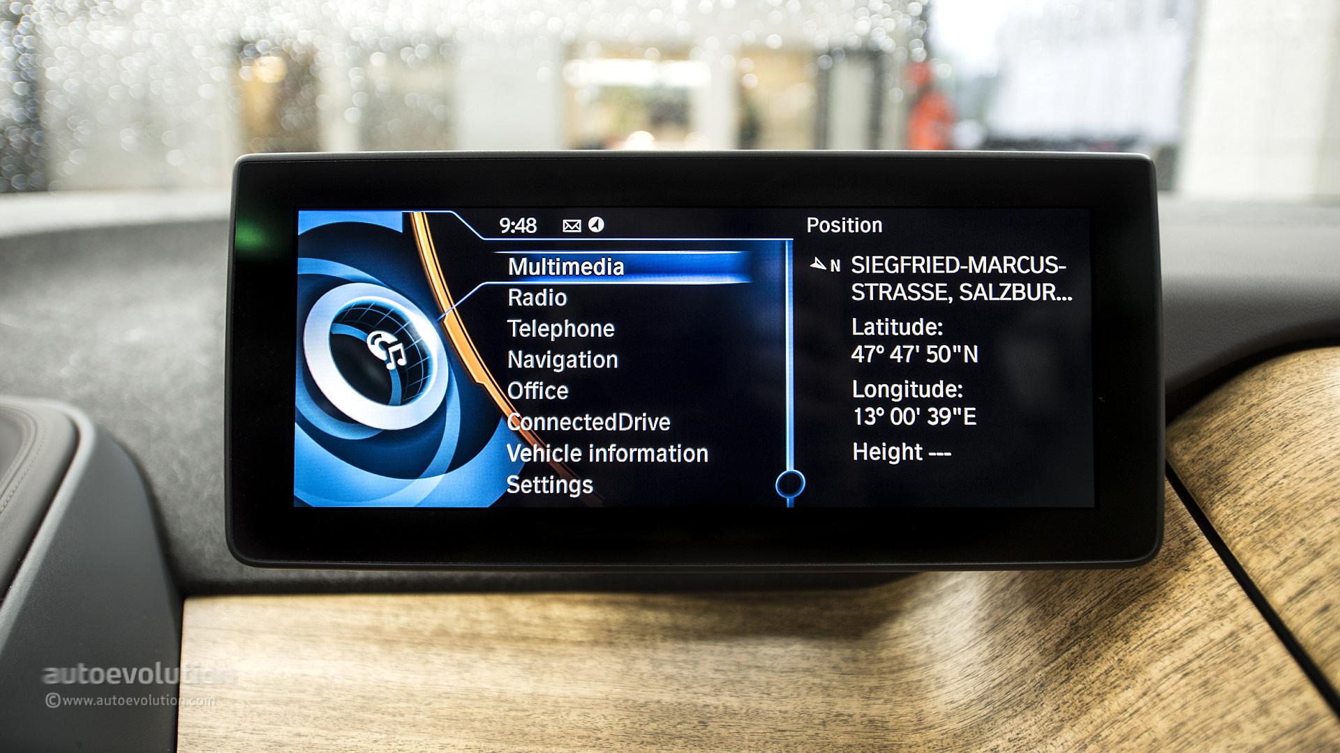 BMW i3 Infotainment System