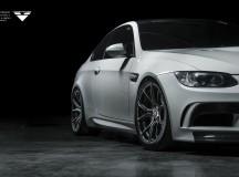 E92 BMW M3 on Carbon Graphite V-FF 103 Wheels