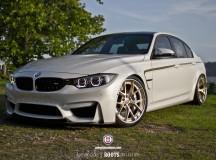 F80 BMW M3 on HRE Wheels, Installation by Wheels Boutique