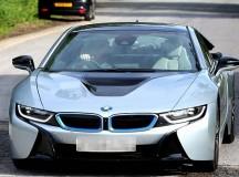 2016 BMW i8 Ends Up in Wayne Rooney`s Garage