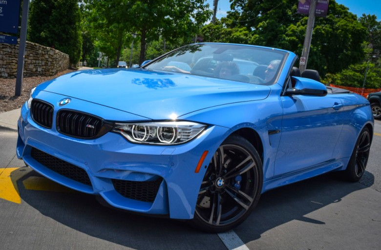 Yas Marina Blue Bmw M4 Convertible Pops Up In Kansas City Us