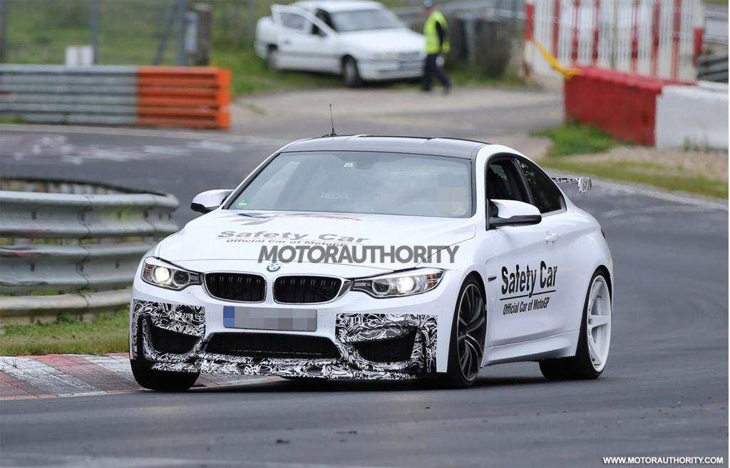 BMW M4 GTS Prototype Spy Shot
