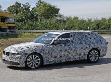 2017 BMW 5-Series Touring Spy Shot