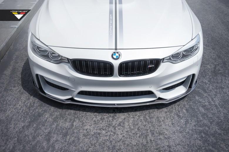 Alpine White F82 BMW M4 by Vorsteiner